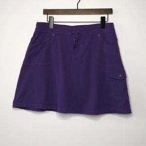 KUHL Mova Skort Skirt with Shorts Cargo Pocket